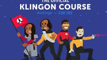 Duolingo vous propose d'apprendre le Klingon, la langue imaginaire tirée de la série Star Trek