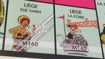 Les Gauff' sortent leur Monopoly avec des cases typiquement liégeoises