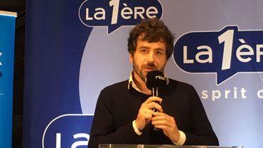 Abel Quentin à la Foire du Livre de Bruxelles 2020
