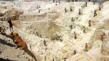 Une mine en Afrique