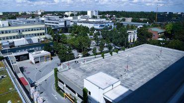 Le parking du centre commercial dans lequel s'est déroulée la fusillade