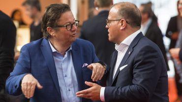 """Marc Coucke et Bart Verhaeghe, deux """"Sugar Babies"""" débattant du cheikh Mansour ?"""