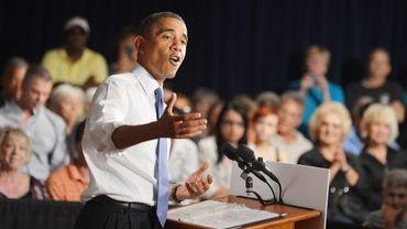 USA: sondages préoccupants, Barack Obama à l'offensive contre Mitt Romney