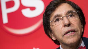 """Crise politique francophone: Elio Di Rupo """"prend acte de la trahison du cdH"""""""