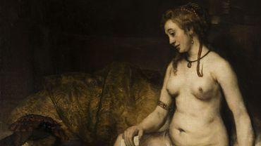 """La """"Bethsabée au bain"""" de Rembrandt a retrouvé le chemin du Louvre."""