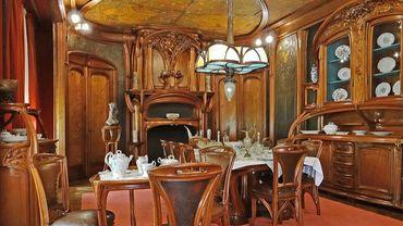 """Un intérieur """"Art Nouveau"""" (Illustration)"""