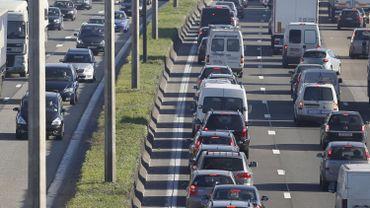un embouteillage en 2011