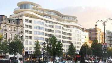 Ixelles: un appart à 4,4 millions de la future Cond'Or Résidence déjà vendu