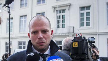 Le secrétaire d'État à l'Asile Theo Francken