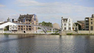 """L'Enjambée"" reliera...Jambes à Namur."