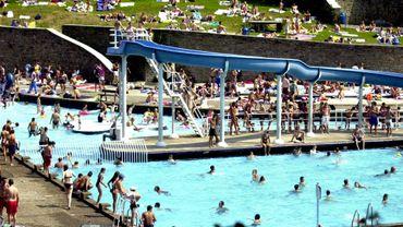 La piscine actuelle du Centre de Délassement de Marcinelle