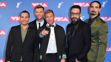 Les Backstreet boys au 2018 MTV Video Music Awards - Red Carpet