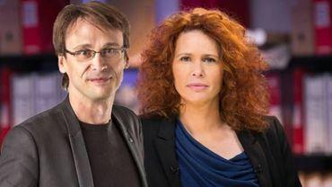 Malika Attar et Bruno Clément