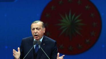 Frappes américaines en Syrie: Erdogan appelle à des mesures supplémentaires