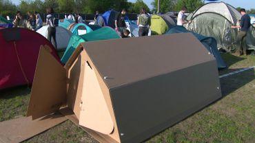 Une tente pas comme les autres ou quand le camping fait un carton