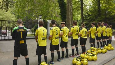 Les footballeurs d'Amnesty