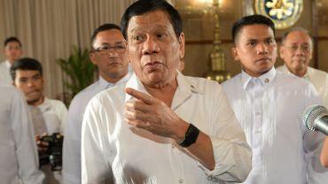 """""""Pourquoi venez-vous nous faire chier?"""", a déclaré Rodrigo Duterte à propos des eurodéputés qui demandent une enquête internationale sur l'opération antidrogue qui a fait des milliers de morts en Philippine."""