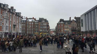 Youth for Climate: plus de 400 étudiants rassemblés à Namur (Photos)