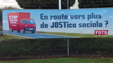 Job's day Chauffeur chez Jost à Bierset: stop au dumping social
