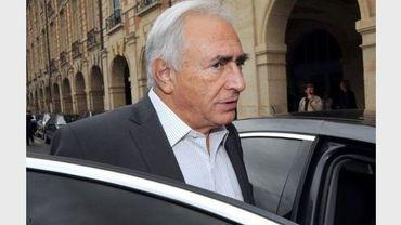 Dominique Strauss-Kahn, le 8 septembre 2011 à Paris.
