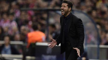 Diego Simeone fier de son équipe