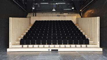 Salle de l'oeil vert (Petite salle) - Jean Prouvé by Vitra, Théâtre de Liege