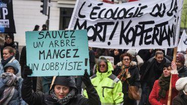 """Marche pour le climat: """"Le combat s'annonce long et difficile, mais nous ne lâcherons rien"""""""