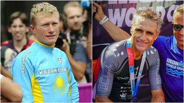 Vinokourov et Jalabert champions du Monde d'Ironman 70.3