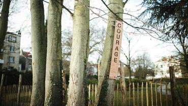 COURAGE: de la littérature dans les parcs et les rues de Bruxelles