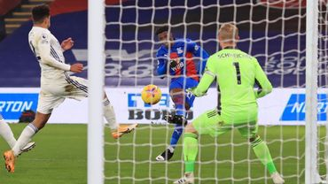 Wilfried Zaha, buteur face à Leicester