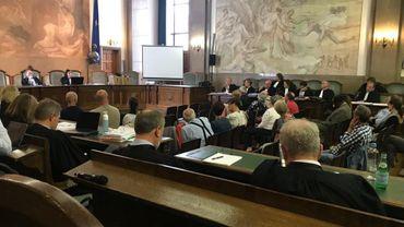 Plaidoirie des parties civiles / procès Buizingen