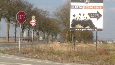 """La nouvelle route """"des pandas"""""""