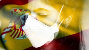 L'Espagne a enregistré un nouveau record de morts dus au coronavirus en 24 heures.
