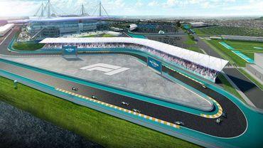 Le futur circuit de Miami