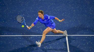 Clijsters s'incline au 1er tour à Dubaï face à Muguruza pour son retour à la compétition