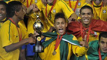 Neymar et les Brésiliens sont champions d'Amérique du Sud des moins de 20 ans