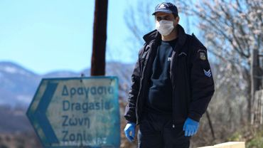 Un policier grec