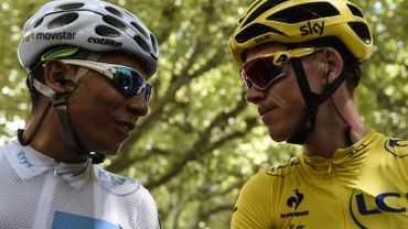 Quintana et Froome