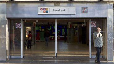 Retour à la normale à la station de métro Beekkant après un début d'incendie