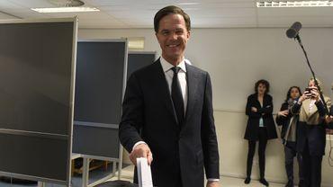 Mark Rutte, Premier ministre sortant