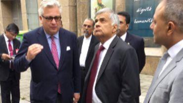 Le prince Laurent avait-il l'autorisation de rencontrer le Premier ministre du Sri Lanka?