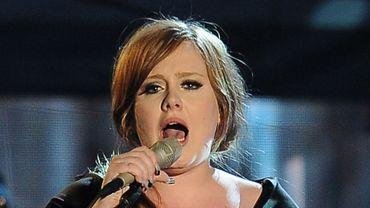 La chanteuse britannique Adele prépare un nouvel album depuis un an