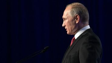 Le président russe Vladimir Poutine à Moscou, le 3 novembre 2017