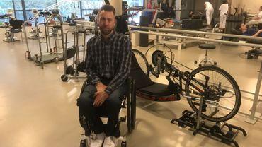 Roger Habsch, 4ème mondial du 100 mètres en chaise roulante (athlétisme), a témoigné de l'intérêt des structures handisports dans les centres de revalidation