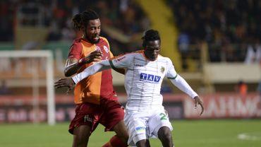 Christian Luyindama jauni et tenu en échec avec Galatasaray pour sa première