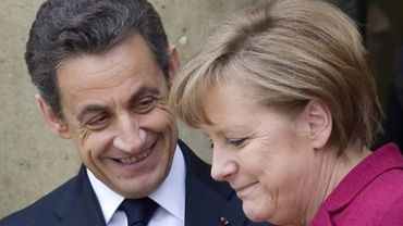 Angela Merkel et Nicolas Sarkozy à l'Elysée le 19 mars dernier