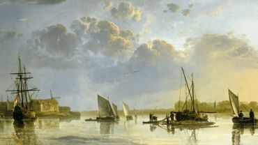 Aelbert Cuyp (1620-1691)  View of Dordrecht from the North, c.1655
