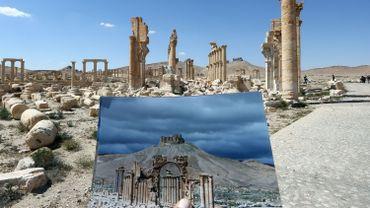 Site de Palmyre, Syrie