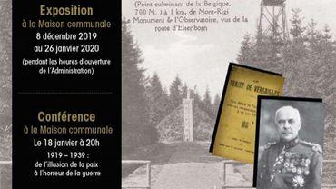 """Waimes: """"Il y a 100 ans, nous devenions Belges"""", une expo sur l'histoire des Cantons de l'Est"""