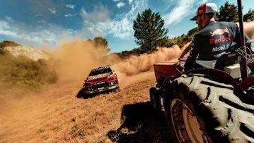 La Citroën C3 WRC et Pierre Gasly